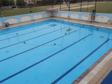 LIFE SAFETY EQUIPMENT AND SWIMMING POOL