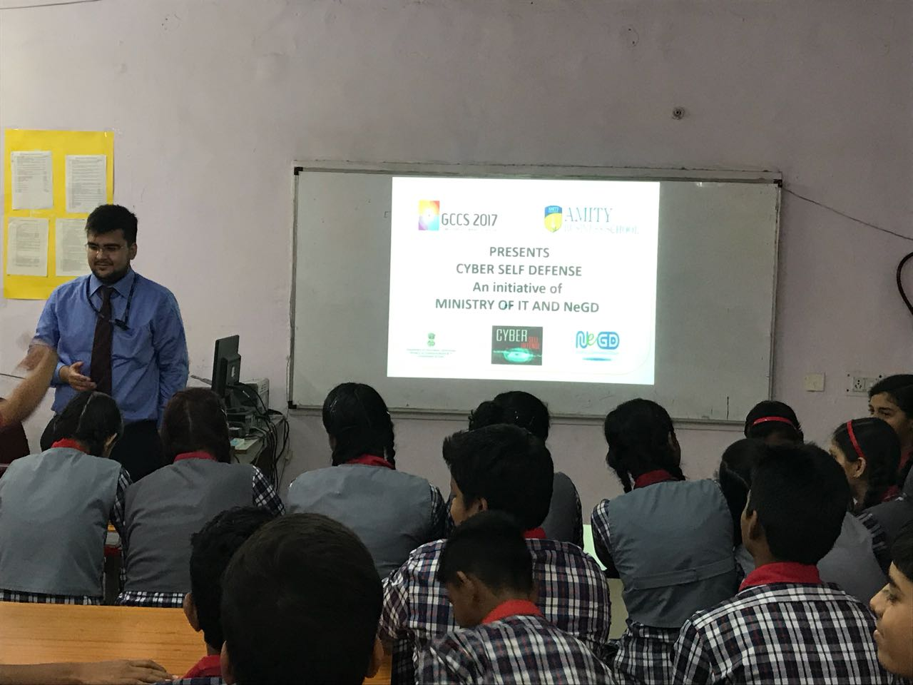 CYBER SELF DEFENSE WORKSHOP BY AMITY UNIVERSITY