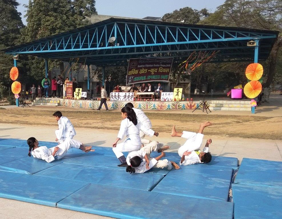 ANNUAL SPORTS DAY JUDO ACTIVITY FOR SELF DEFENCE