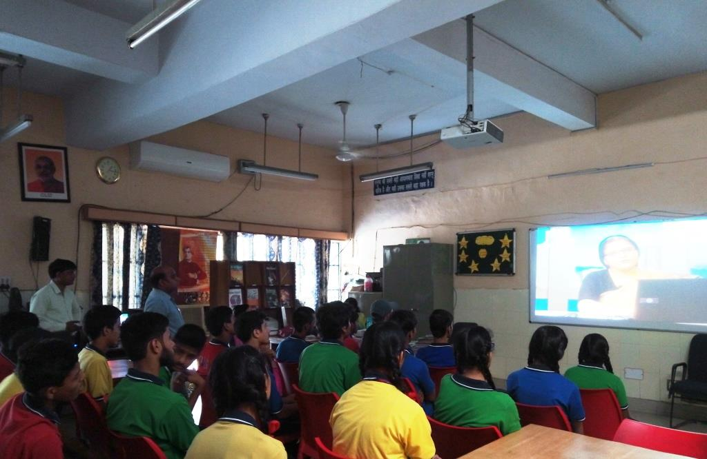 KNOWLEDGE TO STUDENTS ON BHUVAN PROJECT