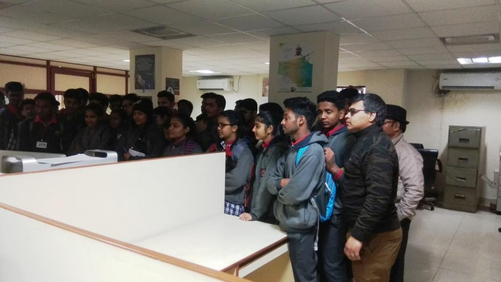 STUDENT OF VIDYALAYA VISITED  DIGITAL MEDIA LAB AT CSIR UNDER JIGYASA PROJECT