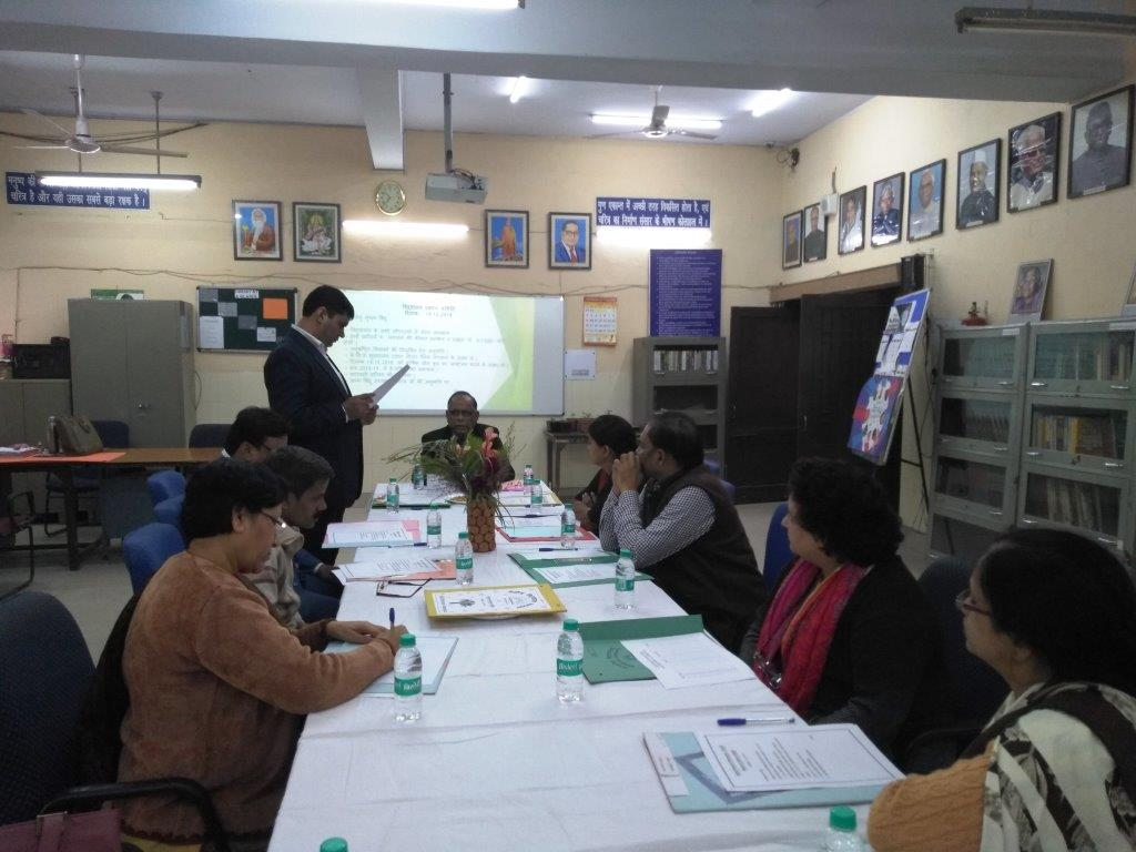 VMC MEETING HEADED BY CHAIRMAN VMC ON DATED 14.12.2018