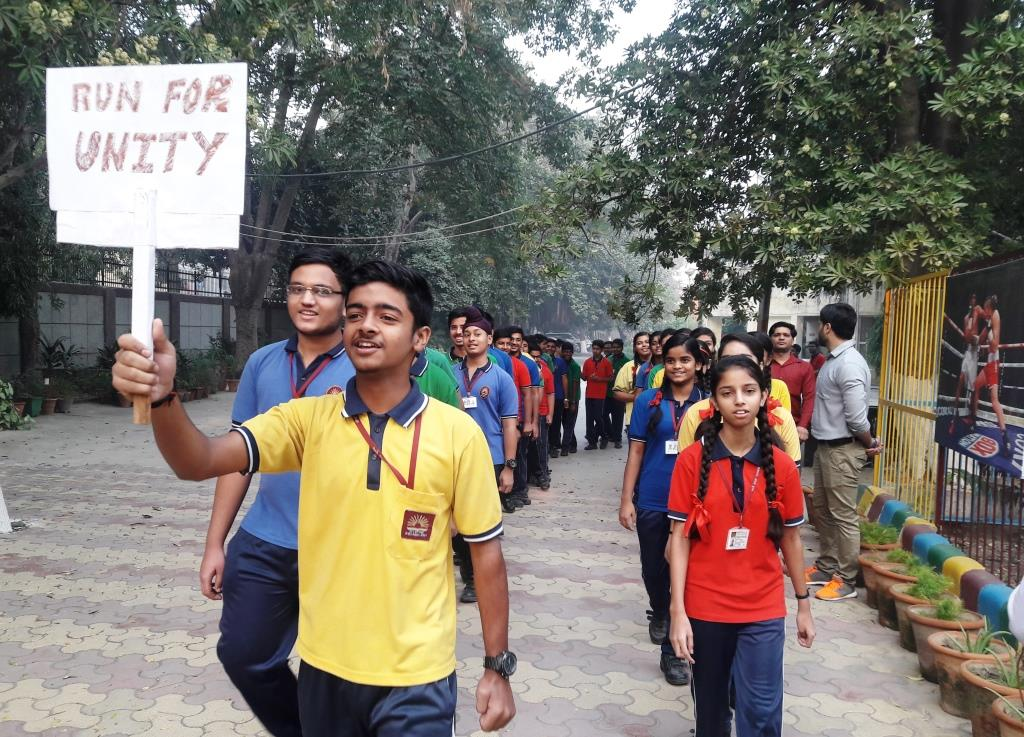 STUDENT AND TEACHER PARTICIPATION IN RUN FOR UNITY
