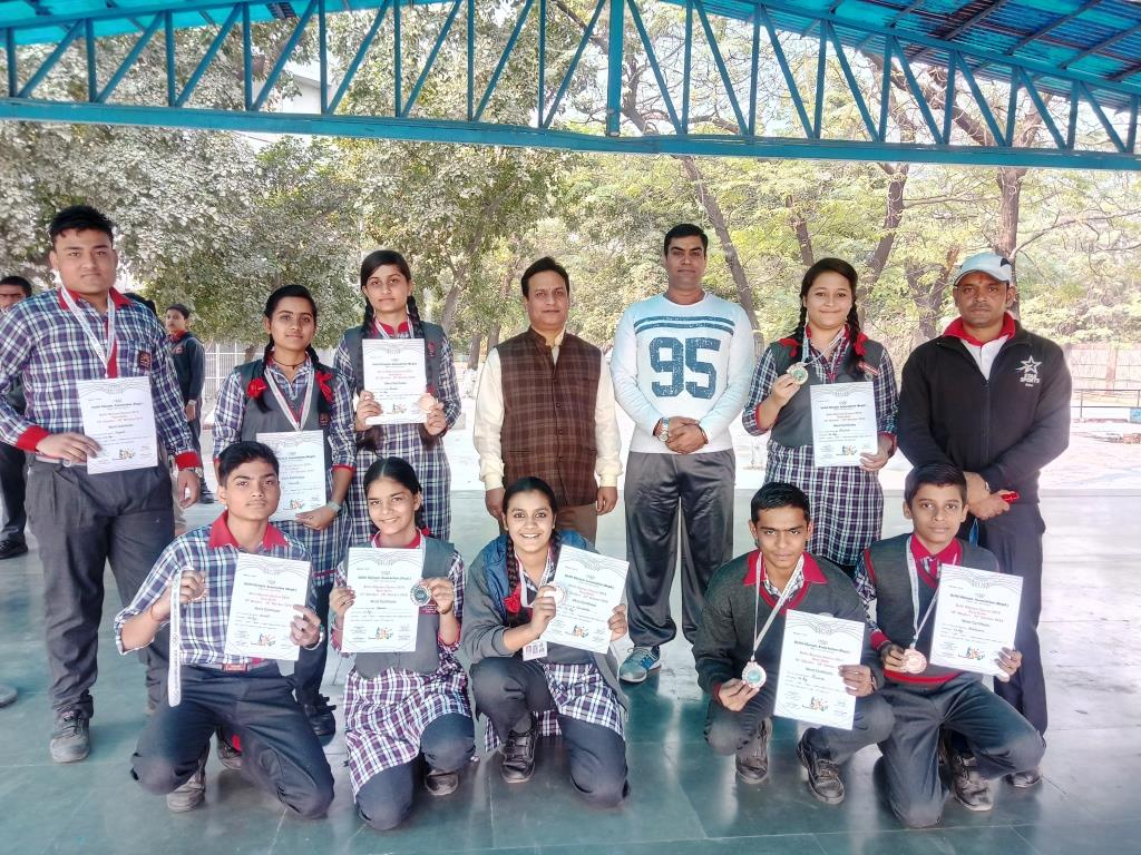 VIDYALAYA PARTICIPATION IN DELHI OLYMPICS AND CERTIFICATION AND MEDAL DISTRIBUTION TO WINNER STUDENT