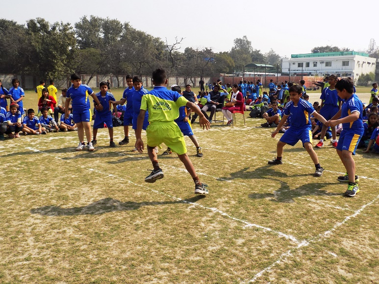 CLUSTER LEVEL MINI SPORTS MEET AT KV KESHAVPURAM