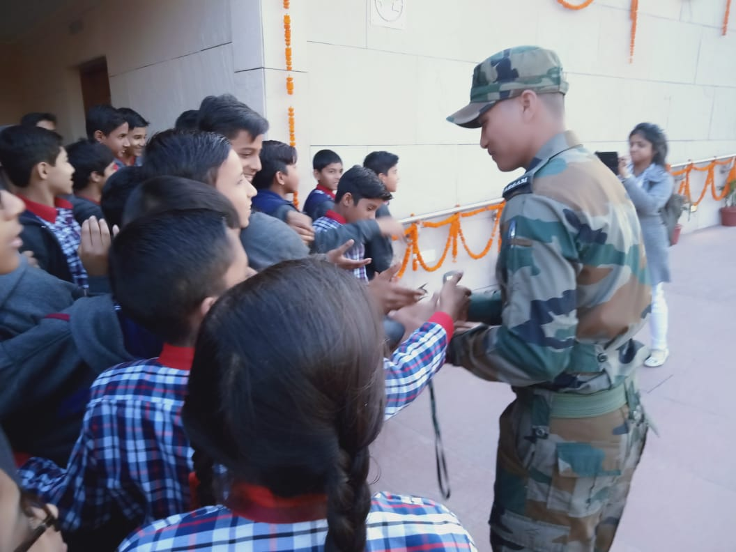 Vidyalaya student visited National War Memorial on 01.03.2019 with teachers (1)